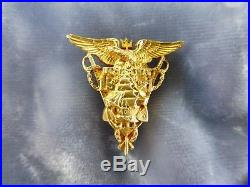 14k Gold Us Naval Academy Sweetheart Pin Dated 1921.185 Troy Oz