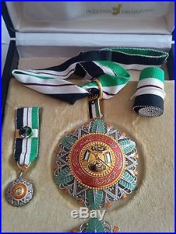1917 Jordan the Supreme Order of the Renaissance Complete Set Medal Badge Wissam