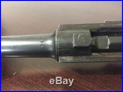 1920/1917 Rework Luger P08 complete upper Erfurt artillery/military #s matching