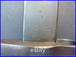 1926 Dated Lithgow Made P. 1907 Lee Enfield Bayo And Scabbard