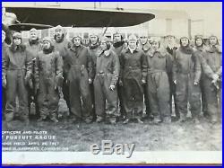 1927 Selfridge Field US Army Air Service Aviation PANORAMA Photo PURSUIT PILOTS