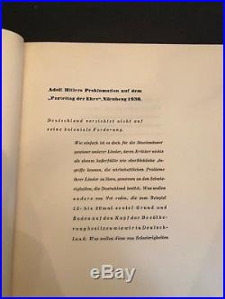 1936 Nazi Germany Two Volume Composition of former German Colonies DR HW Bauer