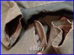 1937 dated german enlisted overcoat in excellent shape, no shoulder boards