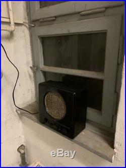 1938 DKE 38 german Adolf Hitler tuberadio Goebbels rare tube radio NAZI