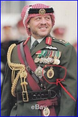 1949 Kingdom of Jordan Order Hussein Bin Ali Gold Chest Badge Medal 80 grams