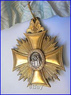#20 POLAND WHITE EAGLE CANON ECCLESIASTICAL CATHOLIC CHURCH ORDER, MEDAL, 1930s