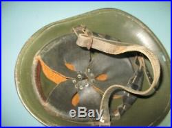 33 marked genuin Dutch M27 helmet Stahlhelm casque casco elmo Kask