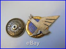 #640u POLAND POLISH 1st AIR FORCE REGIMENT BADGE, very rare. Unknown origin