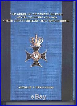 #9198 Jozef Zawacki POLAND ORDER VIRTUTI MILITARI, 5th cl WWII PAF PILOT, 304 Sq