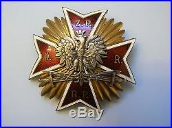 #995 POLAND POLISH NCO BADGE, 1930s, excellent and rare