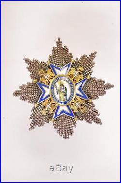 A Serbia Serbian Order of St. Sava Grand Cross Set, Full Length of Original Sash