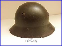 A2 Czech M30 Spanish Civil War Franco Helmet of the Fascist Nationals