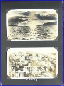 Amazing Photo Album USS Milwaukee 1923-24 Tour 250+ Snapshots & RPPCs