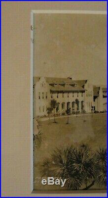 Antique 6x20 Panoramic Photo 1921 Fort Winfield Scott PRESIDIO San Francisco CA