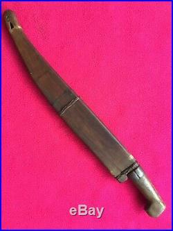 Antique Filipino Visayan Talibon Philippines Bolo Short Sword Not Barong Or Kris