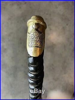 Antique Persian IRAN Reza Shah Pahlavi's Sword Early 1900s Authentic