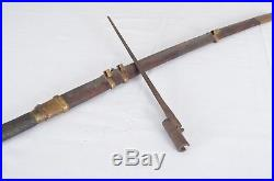 Antique USSR Cavalry Sword Shashka 1941 WWII Saber Reproduction