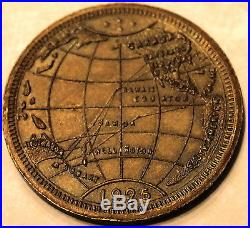 Australian Cruise 145 Ships United States Fleet 1925 Navy Medal / Coin