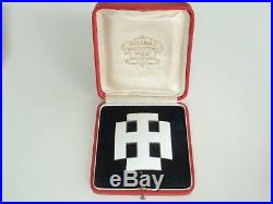 Austria First Republic Order Of Merit Officer Grade. Silver/hallmarked Cased Vf+