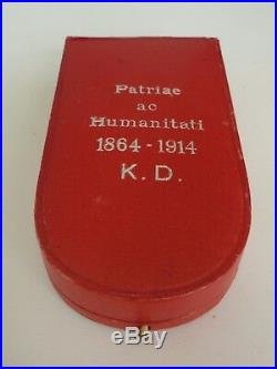 Austria Red Cross Decoration Order 3rd Class. Cased Vf+