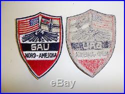 B1192 1930's German / American Bund GAU Nord-Amerika patch C10A6