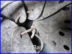Barn Find 100% Original M35 Camo German Helmet Liner Chin Strap Pin Badge Medal