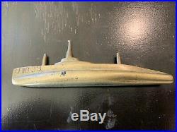 Brass Paperweight Ww1 German Navy Submarine Ub-88 1921 Ultra Rare