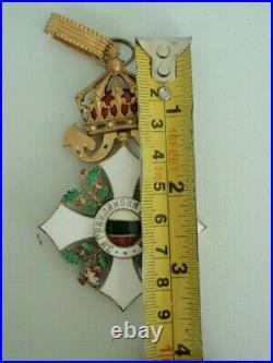 Bulgaria Kingdom CIVIL Merit Order Commander Grade. Republican Period, Cased. 2