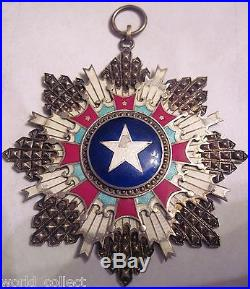 CHINA RARE Order of the Brilliant Star, Commander Cross, 3rd class! Medal