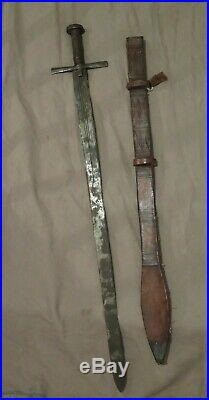 CLASSIC SWORD SUDANESE KASKARA Circa 1930 Classic Similar Medieval European