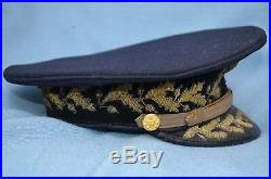 Circa 1920's Full Dress General Officer's Visor Cap