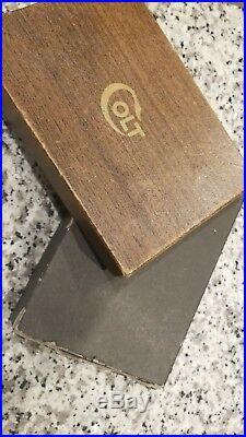 Colt 38 Super Automatic Box Vintage 38 Rare Original