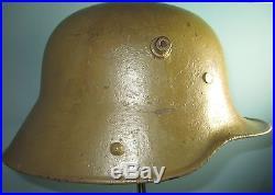 Complete German WW1 helmet casque stahlhelm casco elmo Kask kivere
