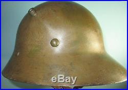 Czechoslovak M30 exp helmet casque stahlhelm casco elmo Kask kivere