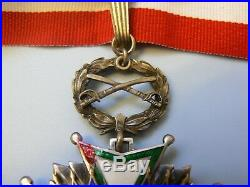 DOMINICAN REPUBLIC ORDER OF TRUCHJILIO, GRAND COMMANDER, MILITARY SET, 1930s