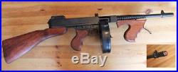 Denix Replica Thompson M1928 Tommy Gun, Non-Firing, Rare