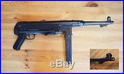 Denix WWII MP 40 submachinegun Schmeisser, Folding stock, non-firing prop