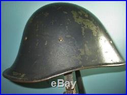 Dutch M27 1929 helmet reuse collaboration POLIZEI casque stahlhelm casco