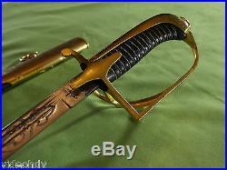 EXTREMELY RARE POLISH POLAND NAVY OFFICER SWORD SABER Mod. Wz. 1927