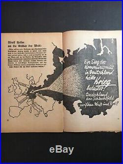Ein Kampf Un Deutschland 1933 German Book Hitler Original Rare Complete