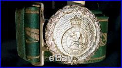 Ethiopia Ethiopian Military Belt & Buckle Haile Selassie Era