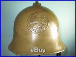 Extremely rare orig Czech M25-28 helmet casque stahlhelm casco elmo Kask
