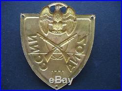 Fascist Badges Ww2 Uniforms Black Shirts' Arm Shield 1940 Scudetto Ccnn Milizia