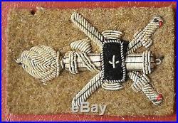 Fascist Original Embroidered Pacht Sidecap Cc. Nn. Africa Orientale M. V. S. N. Duce