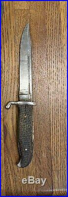 Finnish M/19 Puukkopistin made By E&F Hörster in Germany for Finnish Army