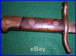Fiskars M/29 Bayonet Fluted Scabbard Finland Finnish