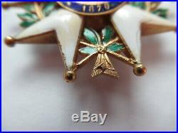 France Legion Of Honor Order Go Set. Badge Gold. Bertrand Maker. Marked. Rr! Ef