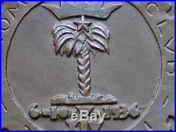 Futurismo Fascist Medal X° Gran Premio Automobile Club Italiano 1936 A Tripoli