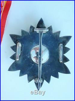 Gabon Grand Cross Set Order Of National Merit. Rare. Ef