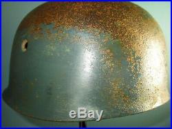 German M38 para helmet size E73 FSJ troops casque casco stahlhelm elmo